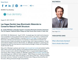 dentist in las vegas,how to avoid root canals,biomimetic materials,las vegas dentistry